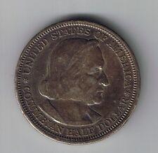 1893 Columbian Exposition Silver Half Dollar 50 cents coin 1/2 commemorative !