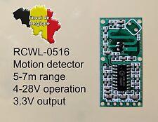 RCWL-0516 radar motion detector détecteur de mouvement Arduino Rpi ESP8266