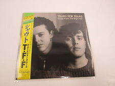 TEARS FOR FEARS SONGS FROM THE BIG CHAIR 25PP-157 with OBI Japan  LP Vinyl