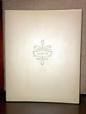 HALLMARK Keepsake WEDDING PHOTO ALBUM Refill Photo Pages ALWAYS SCRAPBOOK Ivory