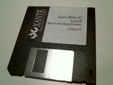 "Xante Accel-a-Writer A2 Level II Macintosh Utilities Ver 9.0 - 3.5"" floppy disk"