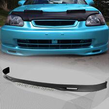 For 1999-2000 Honda Civic Spoon Style Polyurethane Front Bumper Body Spoiler Lip