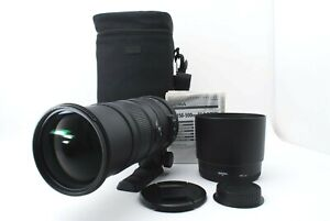 【App.Mint】SIGMA APO 150-500mm F5-6.3 DG OS HSM LENS for CANON EF from Japan #390