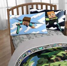 Minecraft Full Sheet Set Jay Franco New 4 Piece