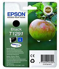 Epson T1291 1291 Noir d'origine cartouche d'encre Stylus Office (C13T12914011)