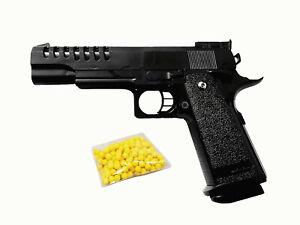 Kugelpistole SoftAir Magazin Kugeln 22cm groß AirSoft Pistole Gewehr Gun
