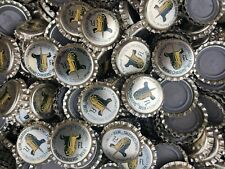 100 ((Rhino Chasers)) beer bottle Caps NO DENTS. Free Shipping.