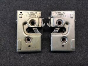 Vw Corrado G60 16v Vr6 Door Locks left and right 535837015B 535837016B