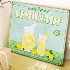 Lemonade Fresh Retro Advert Metal Wall Sign Kitchen Gift Decor Diner 50146