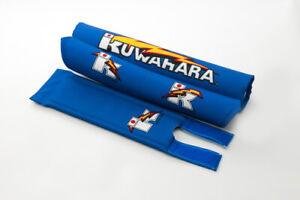 Kuwahara Re-issued BMX V-Bar Pad Set in Blue