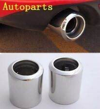 Steel EXHAUST Tail Muffler Tip Chrome pipe For Mazda 6 2014 2015 2016