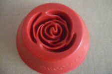 """Moule en Silicone 1 Motif """"Rose"""" Pour Pate à Sucre & d'Amande"""