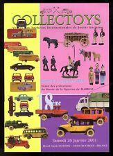 COLLECTOYS  18 eme  vente de jouets anciens     13 janvier 2001