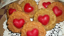8 HIGHLY SCENTED GRUBBY COOKIE TART MELTS W/ HEART CENTER ~ U PICK FRAGRANCE