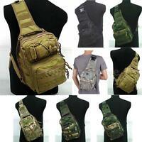 Outdoor Camping Shoulder Military Tactical Backpack Travel Hiking Trekking Bag