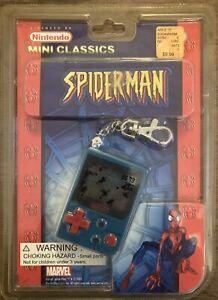 SPIDER-MAN Nintendo Game & Watch Mini Classics LCD Keychain Game
