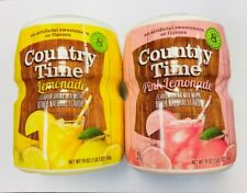country time Lemonade/pink lemonade six of each tubs dated 01/12/18 and 14/10/18