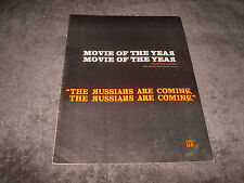 RUSSIANS ARE COMING, RUSSIANS ARE COMING 1966 Oscar ad 'Movie of the Year' Arkin