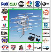 Digital Amplified Antenna HDTV 1080P Outdoor HD TV 150M 360