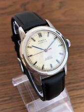 Vintage Men's 1950s Phenix Chronostop All Steel Dress Watch 17 Jewels Swiss Made