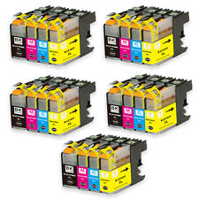 20 PK Ink Set + smart chip for Brother LC101 LC103 MFC J475DW J650DW J875DW