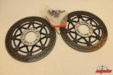 04-05 Suzuki Gsxr 600 750 Complete Front Brake Rotors Oem Pair Of Discs Straight