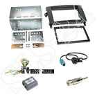 Doppel 2-DIN Mercedes Vito Viano A B Klasse Radioblende+Can-Bus ISO Adapter Set