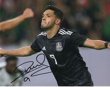 Team Mexico Raul Jimenez Autographed Signed 8x10 Photo Coa