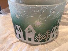 Yankee Candle Winter Village Barrel Jar Shade 🇺🇸