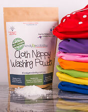 Biodegradable Cloth Nappy Eco Washing Powder/laundry detergent 500g, All Natural
