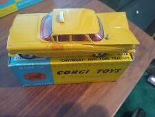 1959 Chevrolet Impala Taxi Cab Corgi Die Cast