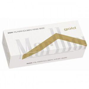 Zigarettenhülsen Marlboro Gold King Size 1.000 Stück