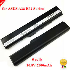 6Cell Laptop Battery For Asus K52L681 A52 Series K52 K52f A32-K52 A52f A52J
