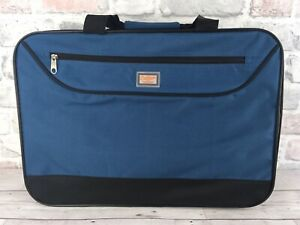 Cotton Trader Travel Small Soft Suitcase 19'' By 13''Overhead Luggage Brand New