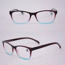 Fashion New Oval color matching plastic small frame ultra light reading glasses