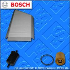 KIT Di Servizio Per PEUGEOT 206 1.4 16 V BENZINA OLIO CARBURANTE CABIN Filtri (2003-2007)