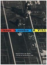 LE TEMPS LE NOMBRE LA VILLE Caisse des Depots + PARIS POSTER GUIDE