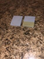 Nintendo Memory Cards for GameCube OEM 59 Block DOL-008 Lot Of 2 TESTED WORKS