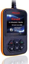 iCarsoft i909 für Mazda Mitsubishi Diagnosegerät  Motor Getriebe ABS Airbag uvm