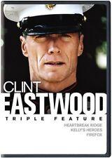 Clint Eastwood Triple Feature: Heartbreak Ridge / Kelly's Heroes / Firefox [New