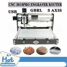 Cnc 3018 Pro Laser Desktop Diy Engraver Milling Carving Machine Grbl Pvc Engrave