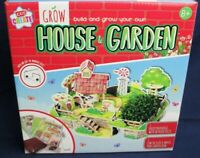 Kids Create Build And Grow Your Own House & Garden Build Puzzle & Plant Seeds 8+