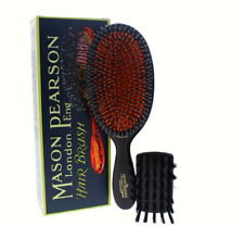 Mason Pearson BN1 Dark Ruby Popular Large Size Hairbrush NEW NIB