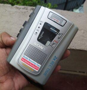 Sony Handheld Cassette Clear Voice Recorder TCM-40DV 2x Rec Time [0024]