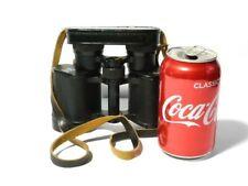 Vintage Bresser Carat 8X30 Wide Angle 5 Linser Binoculars German + Lens Cover