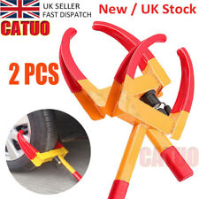 2X Catuo Wheel Lock Claw Clamp Boot Tire Trailer for Car Truck Towing DT