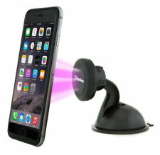 Samsung Phone - Windshield Dashboard Magnetic Suction Cup Stand Car Mount Holder