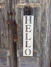 Hello, Hello Sign, Welcome Sign, Welcome Home Sign, Farmhouse Style Decor