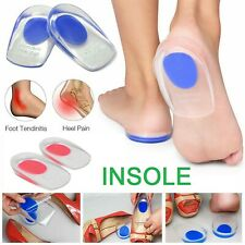 Foot Pain Fast Relief Insoles Plantar Fasciitis Gel Heel Support Cushion Pad Cup