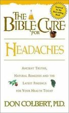The Bible Cure For Headaches Don Colbert Paperback